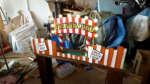 Mini Fairground prop