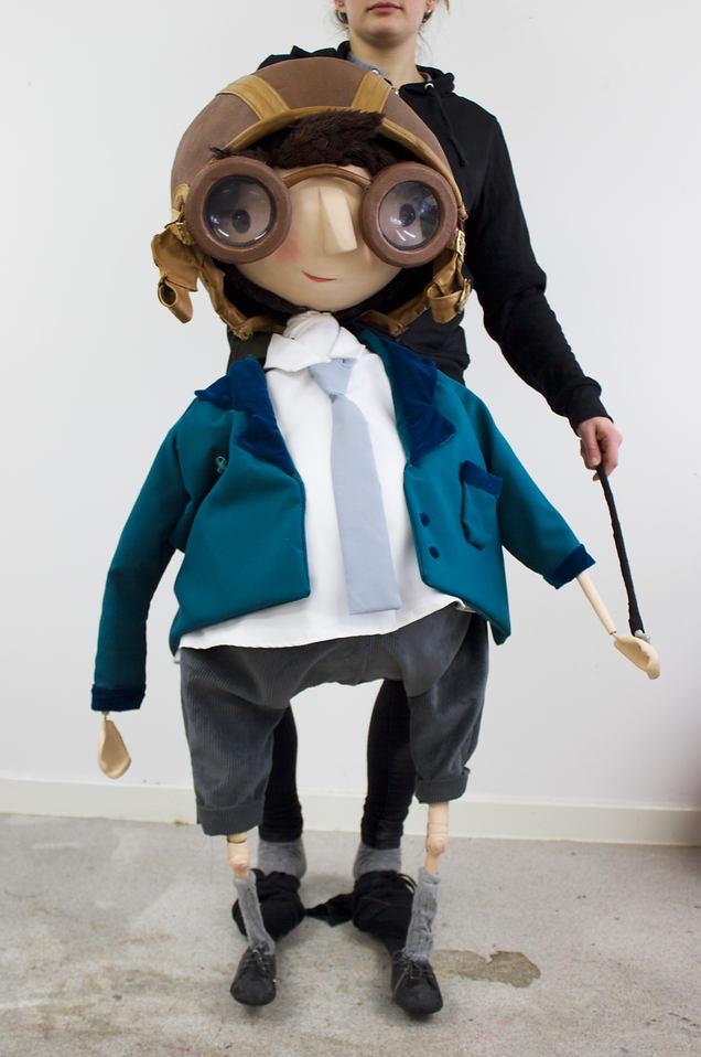 Spike in school uniform