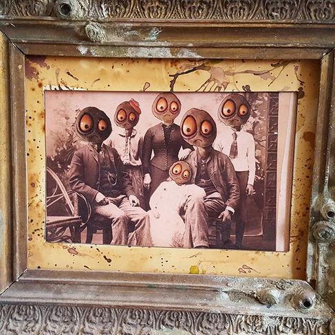 Family portrait.__#seacucumber #gherkin.