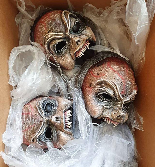 Masks made for Macbeth