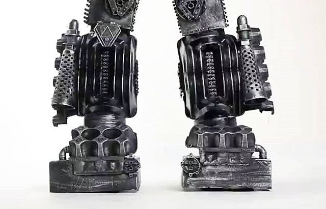 Robot transformer legs made for Sam Walk