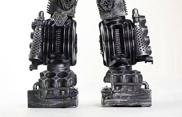 Robot transformer Legs