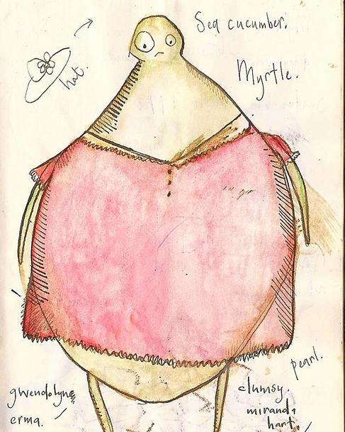 Myrtle sketch