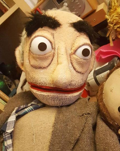 Professor Sir David Spiegelhalter puppet