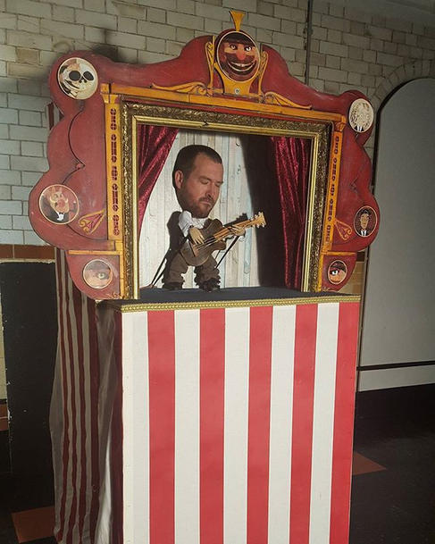 Puppet Booth