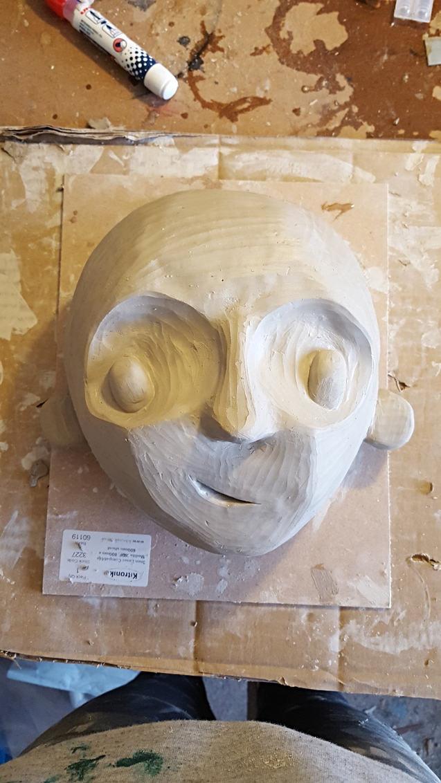Pinocchio sculpt