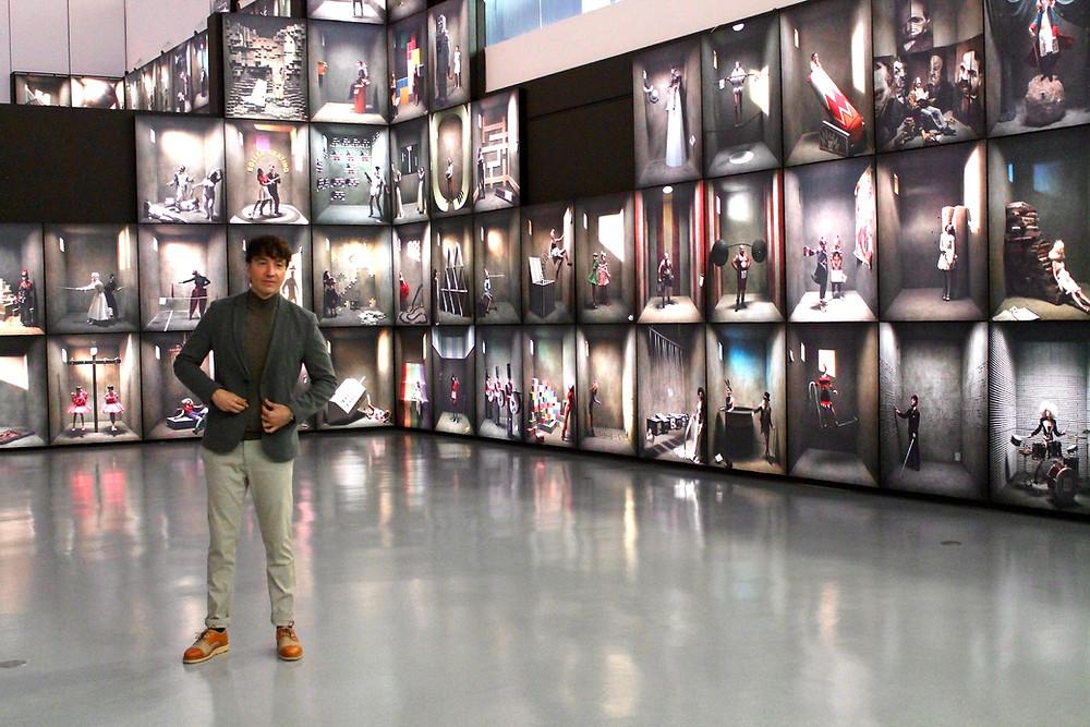 The Trendy man en la exposición de Eugenio Recuenco