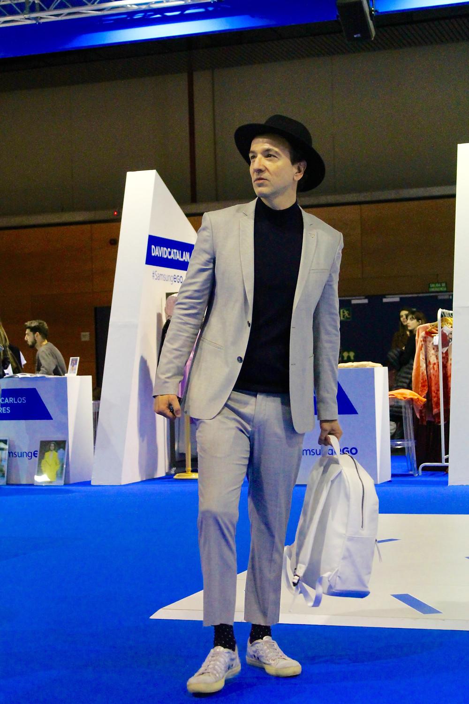 Miguel Biedma en la 63 Mercedes-Benz Fashion Week Madrid