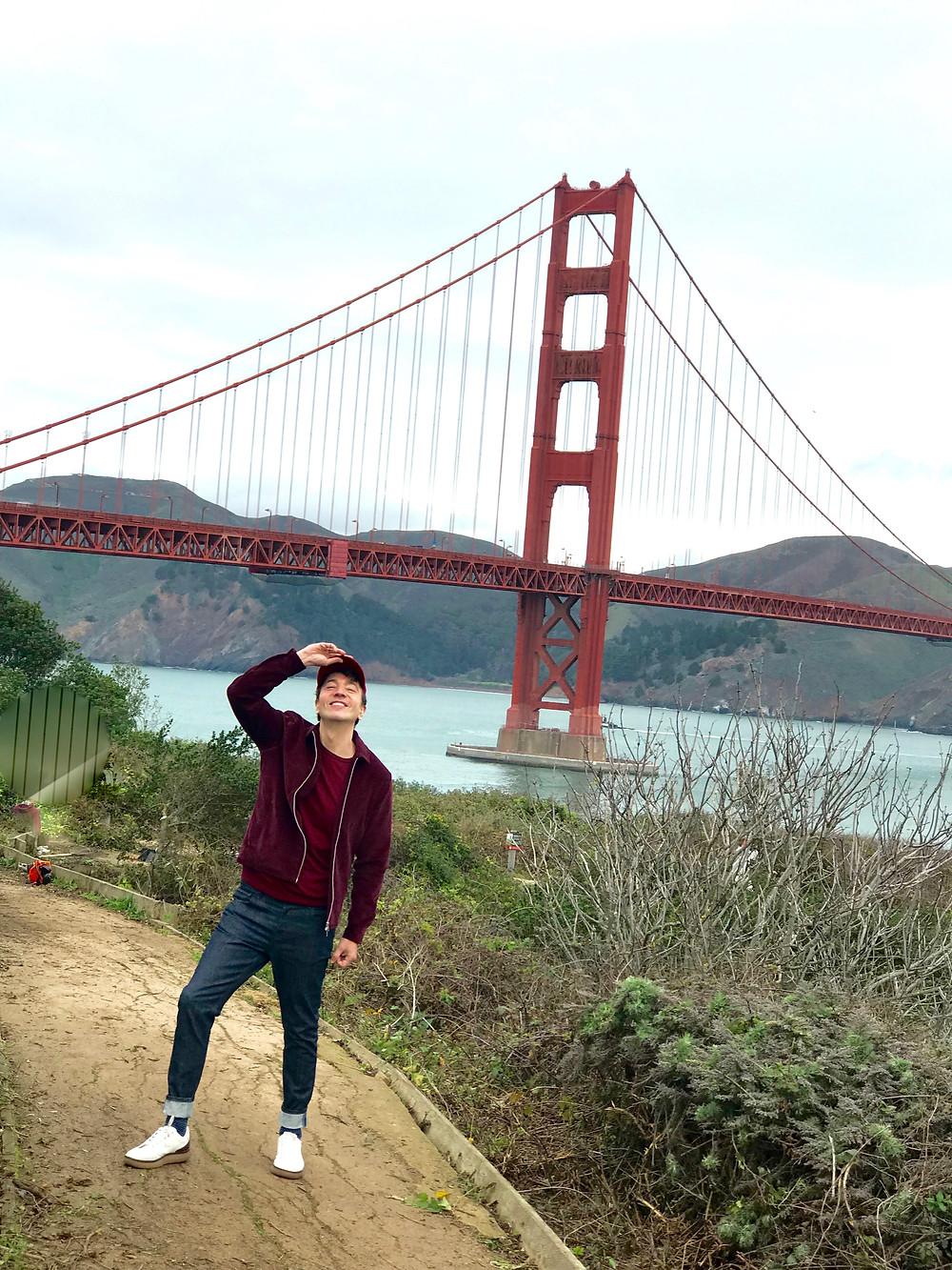 The trendy Man en San Francisco, California
