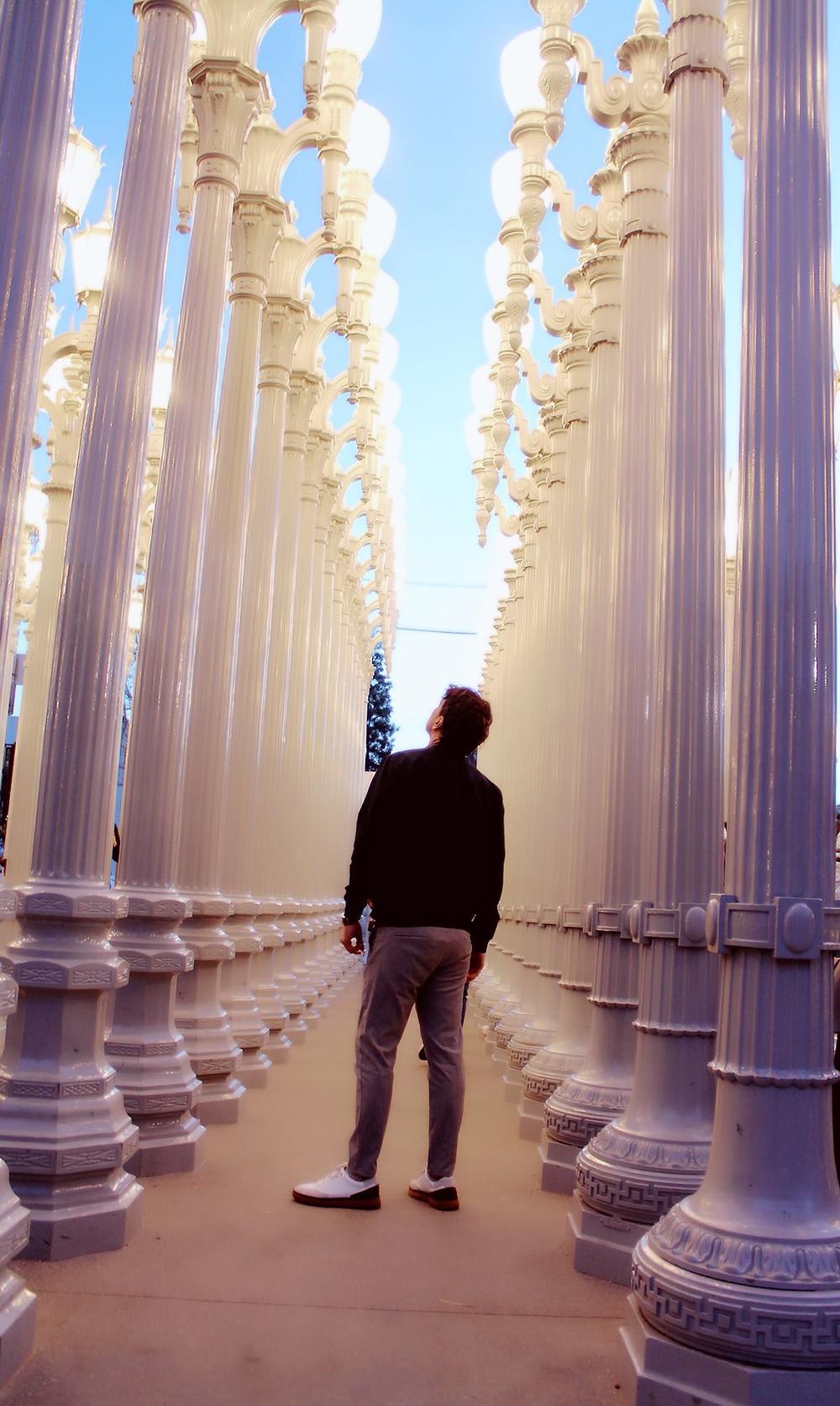 The Trendy Man en el LACMA de Los Angeles