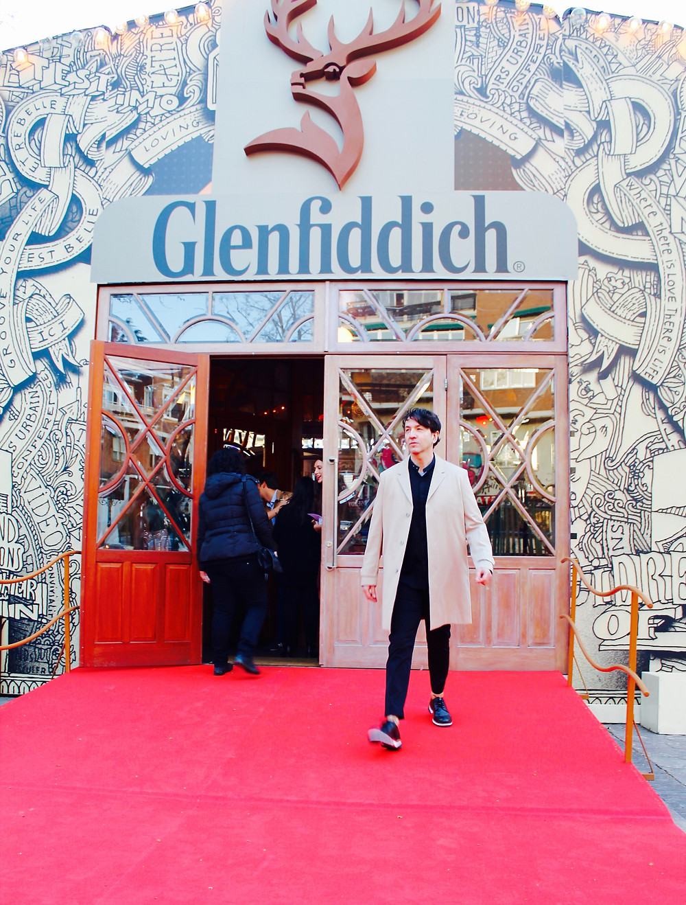 The trendy man en la final de Glenfiddich fusion