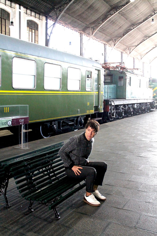 The Trendy Man en la Exposición del Asesinato del Orient Express