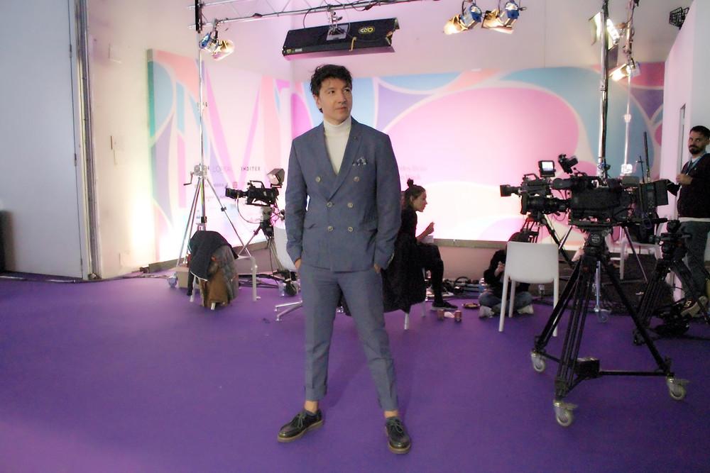 The Trendy Man lleva unos zapatos de Soloio