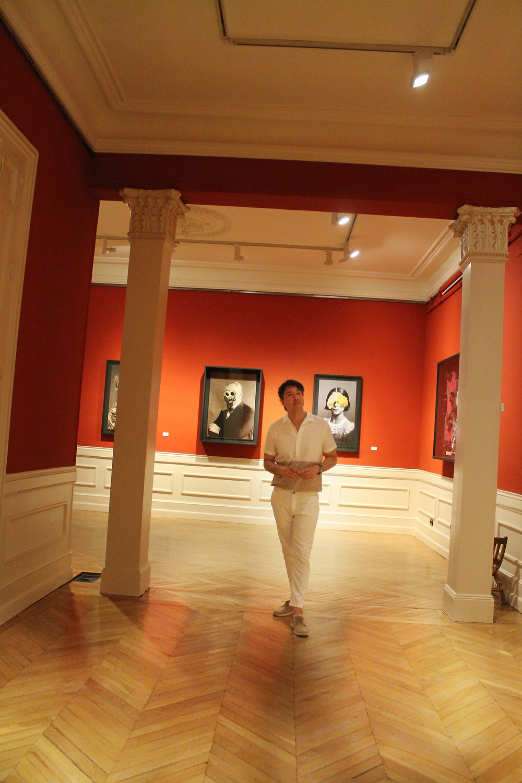 The Trendy Man en el museo Cerralbo de Madrid