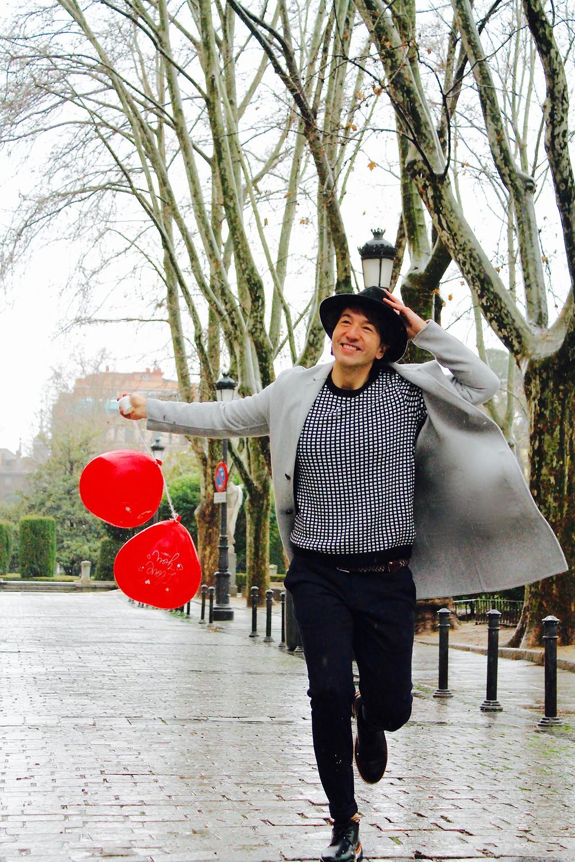 The trendy man en el dia de los enamorados