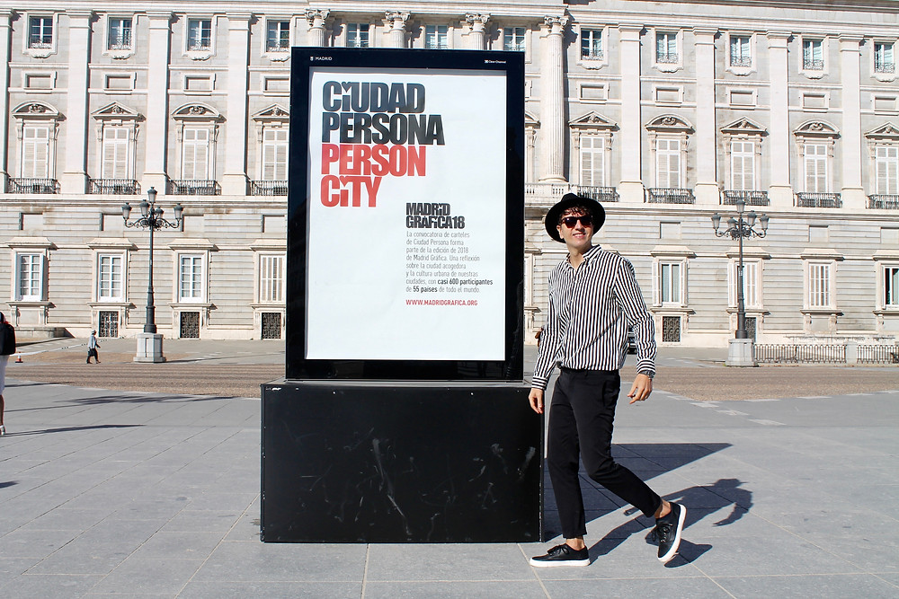 The trendy Man en el Palacio Real de Madrid