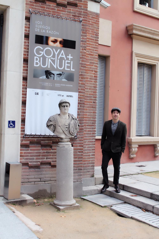 The Trendy Man en el Museo Lazaro Galdiano