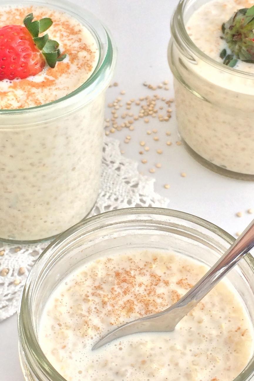 La quinoa con leche tiene alto grado de proteinas