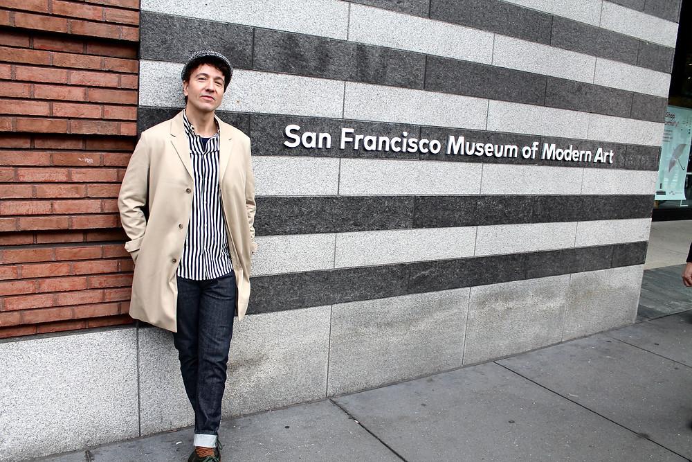 The Trendy Man en el Museo de Arte Moderno de San Francisco