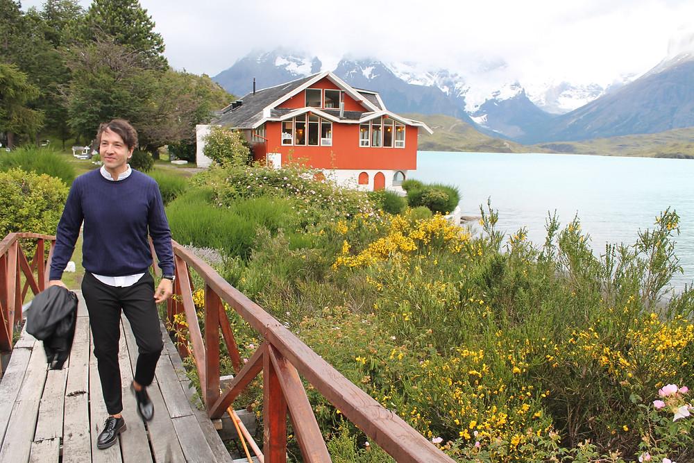 The Trendy Man en las torres del Paine en Chile