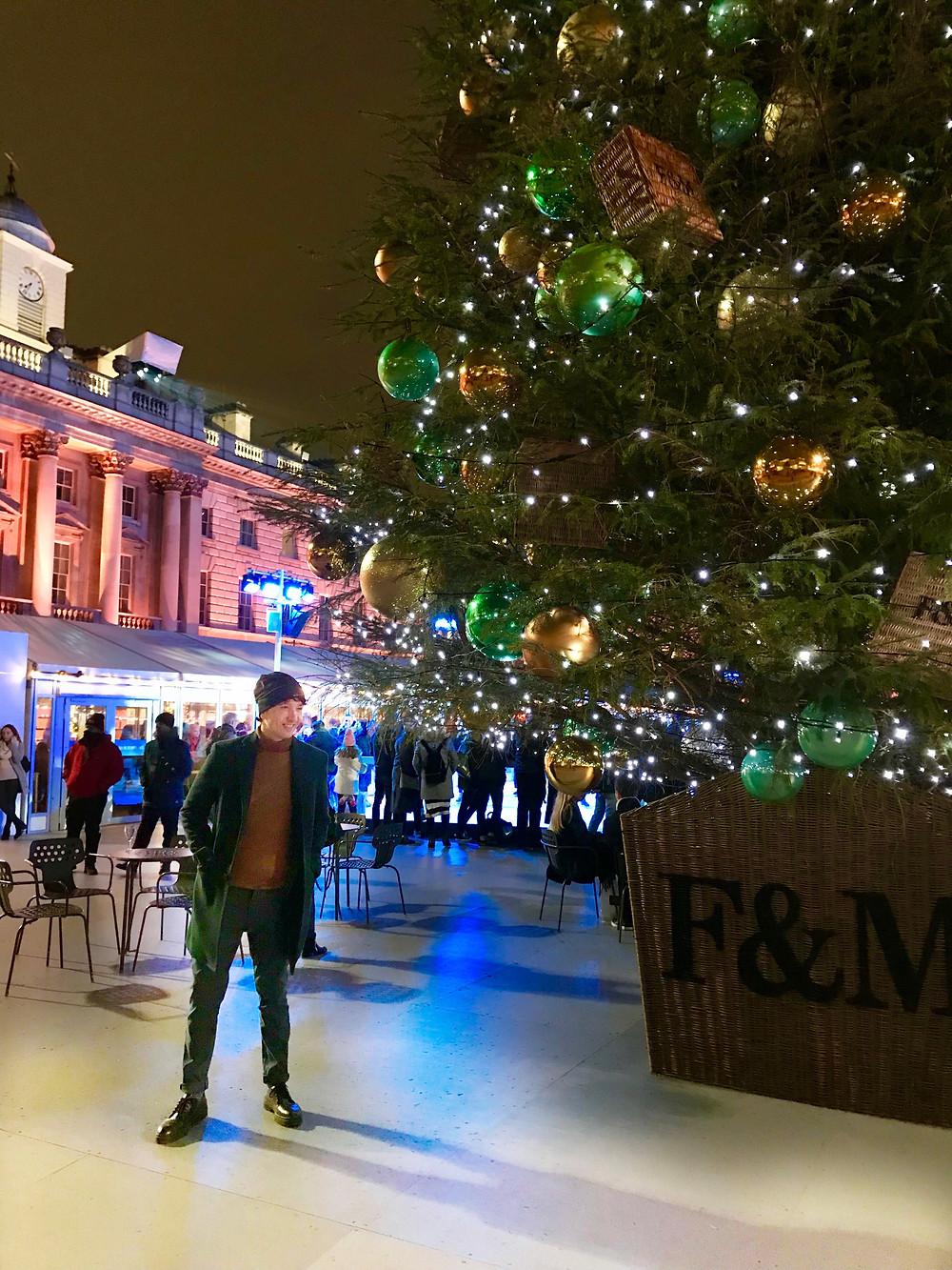 The Trendy Man en Londres por Navidad