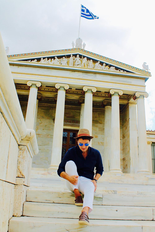 The trendy man en Atenas