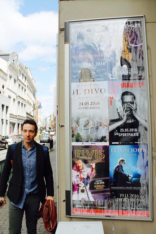 The Trendy Man paseando por las calles de Bruselas