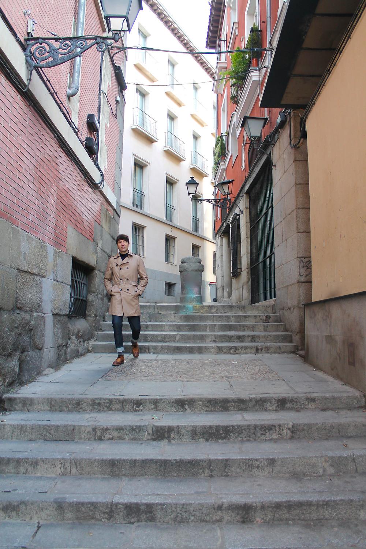 The trendy man en el Madrid de los Austrias