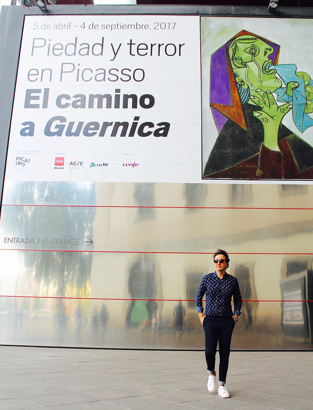 The Trendy Man en el Reina Sofia