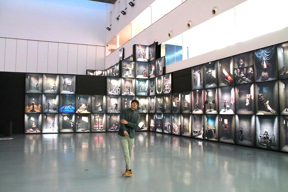 The Trendy Man en el centro de Arte Tomas y Valiente de Fuenlabrada