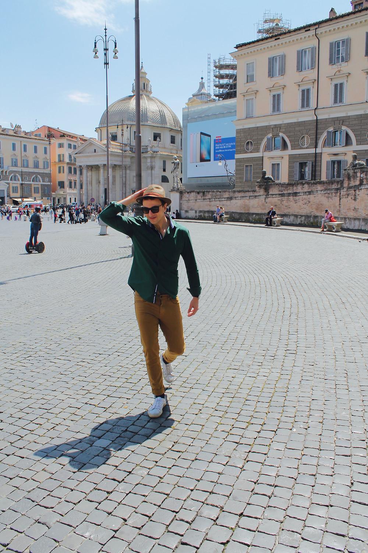 Pasea por Roma de la mano de The Trendy Man