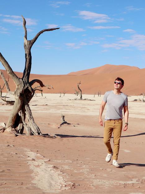EN EL DESIERTO ROJO DE NAMIBIA