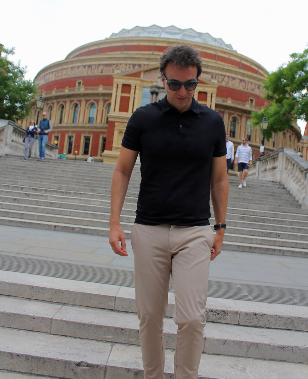 The trendy man in London