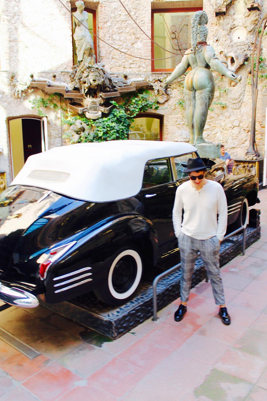 El coche de Dalí