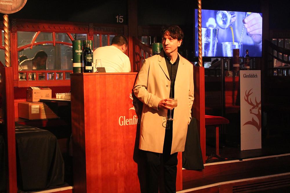 Miguel Biedma en el Teatro Principe Pio