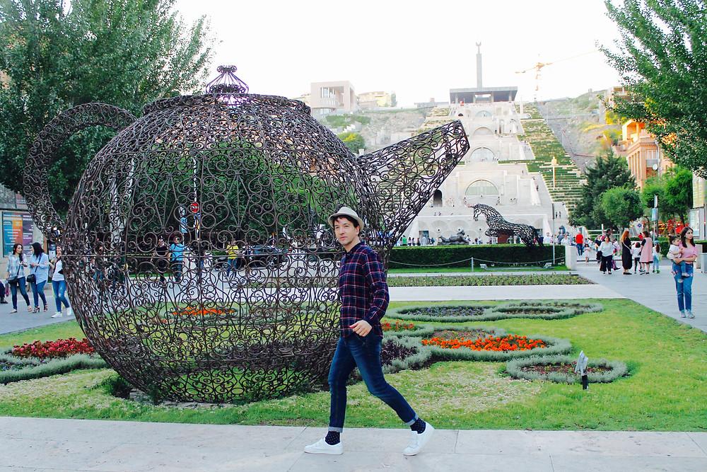the trendy man en Yerevan
