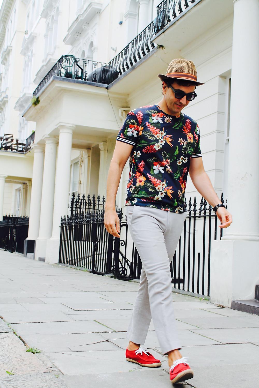 The trendy man. Notting Hill