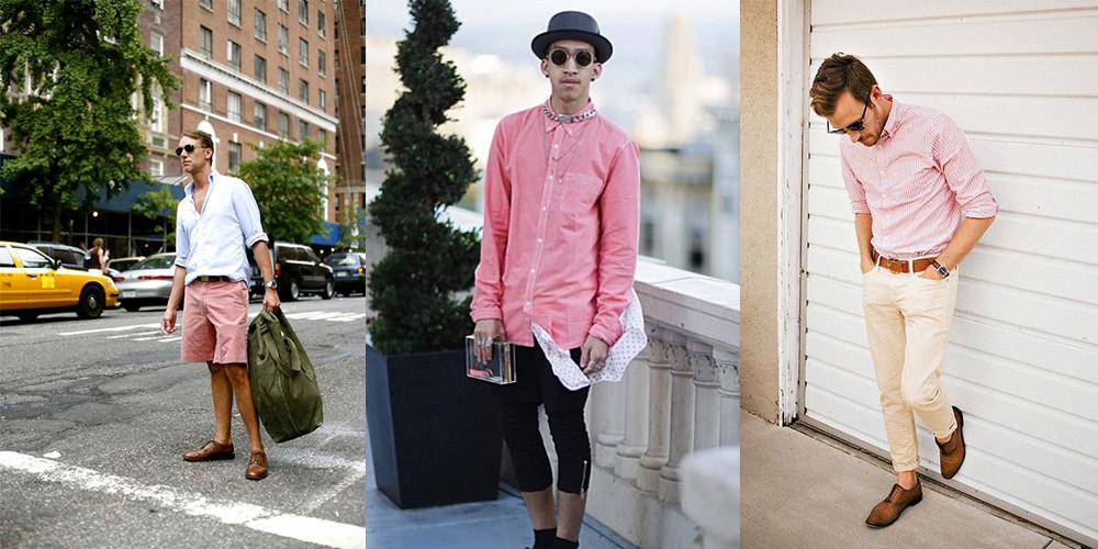 El color rosa es tan femenino como masculino.