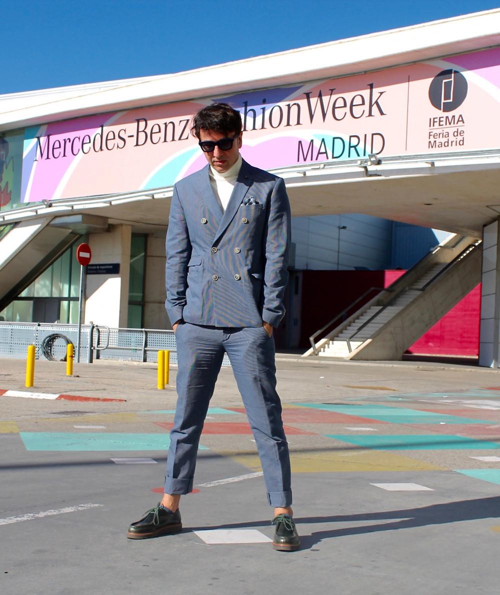 The Trendy Man en la Mercedes Benz Madrid Fashion Week Madrid