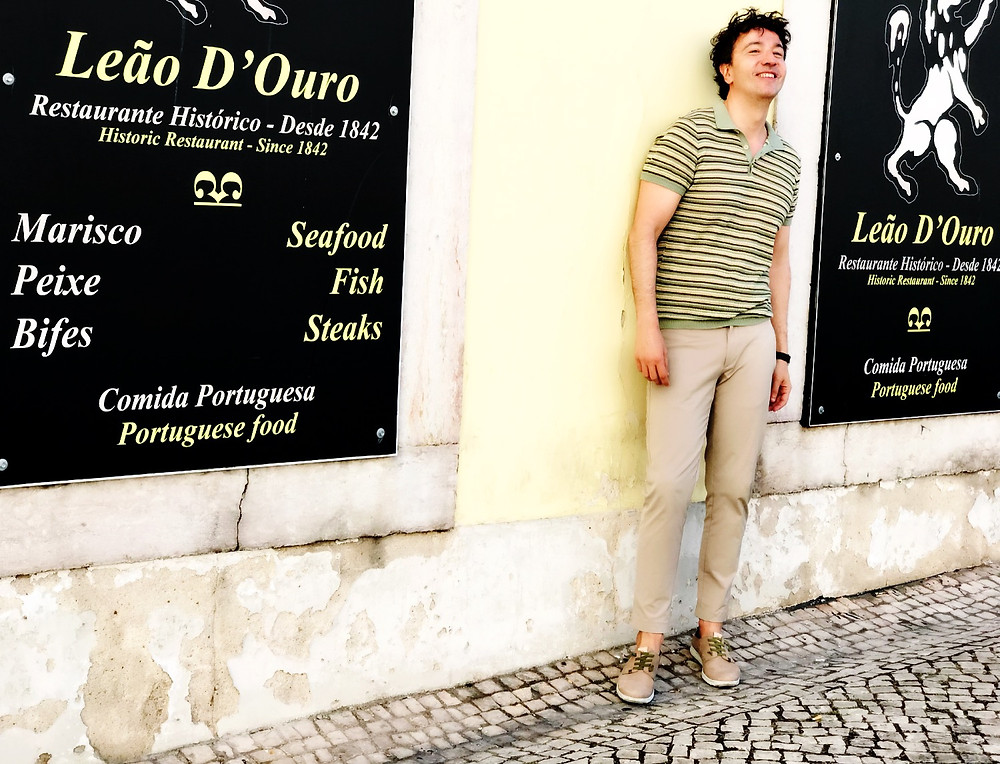 The Trendy Man por las calles de Lisboa