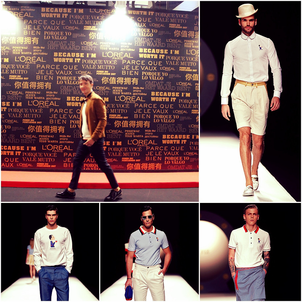 The trendy man en Madrid Fashion Week