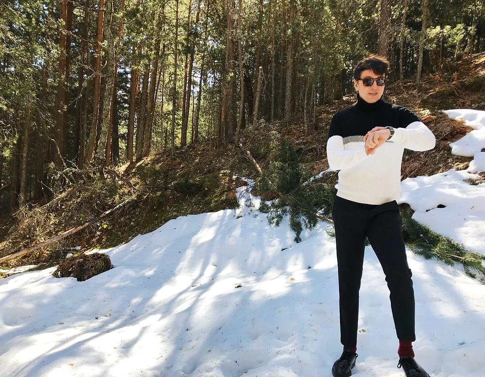 The Trendy Man en la Cascada del Purgatorio