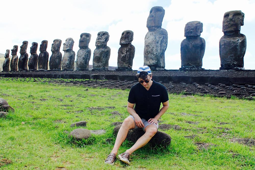 The Trendy Man en isla de Pascua