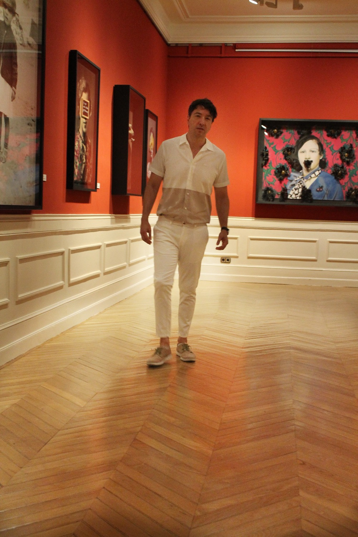 The Trendy Man viste de Pedro del Hierro