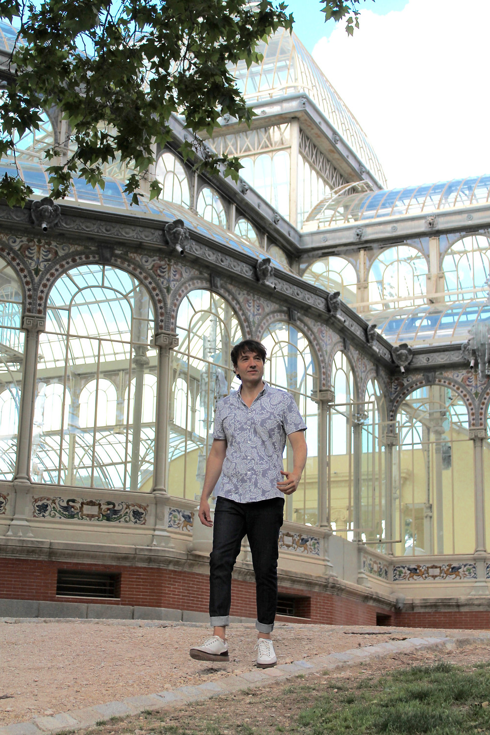The Trendy Man en el Palacio de Cristal