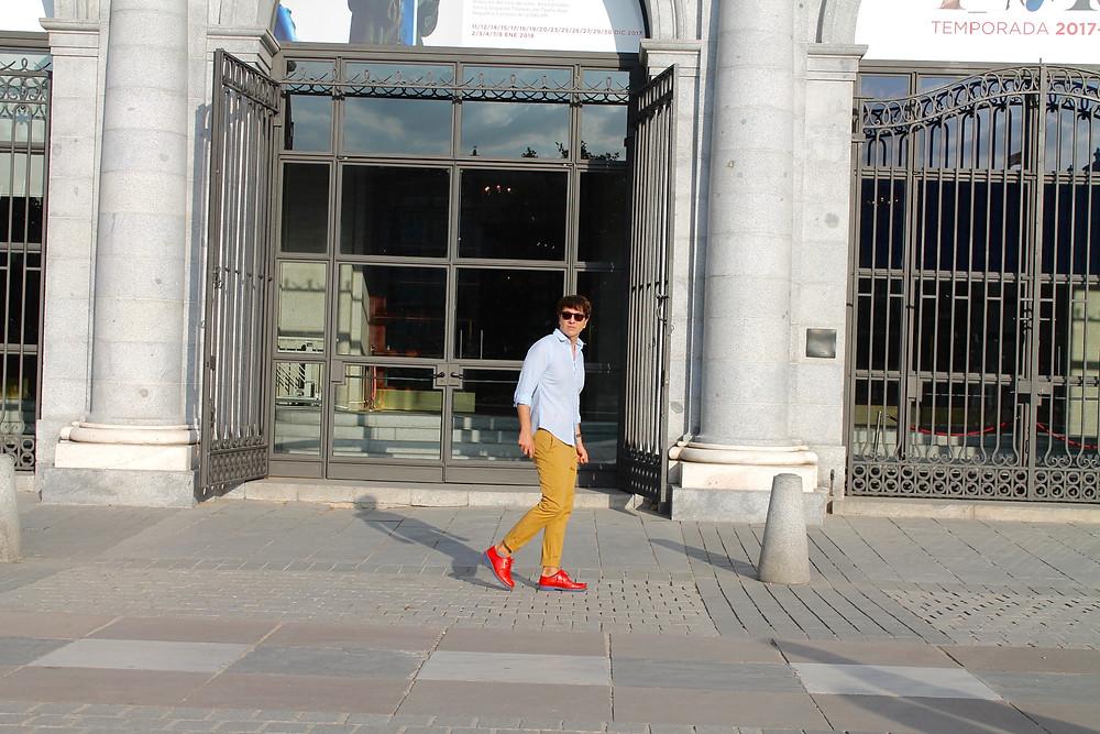 The Trendy Man en la Opera de Madrid