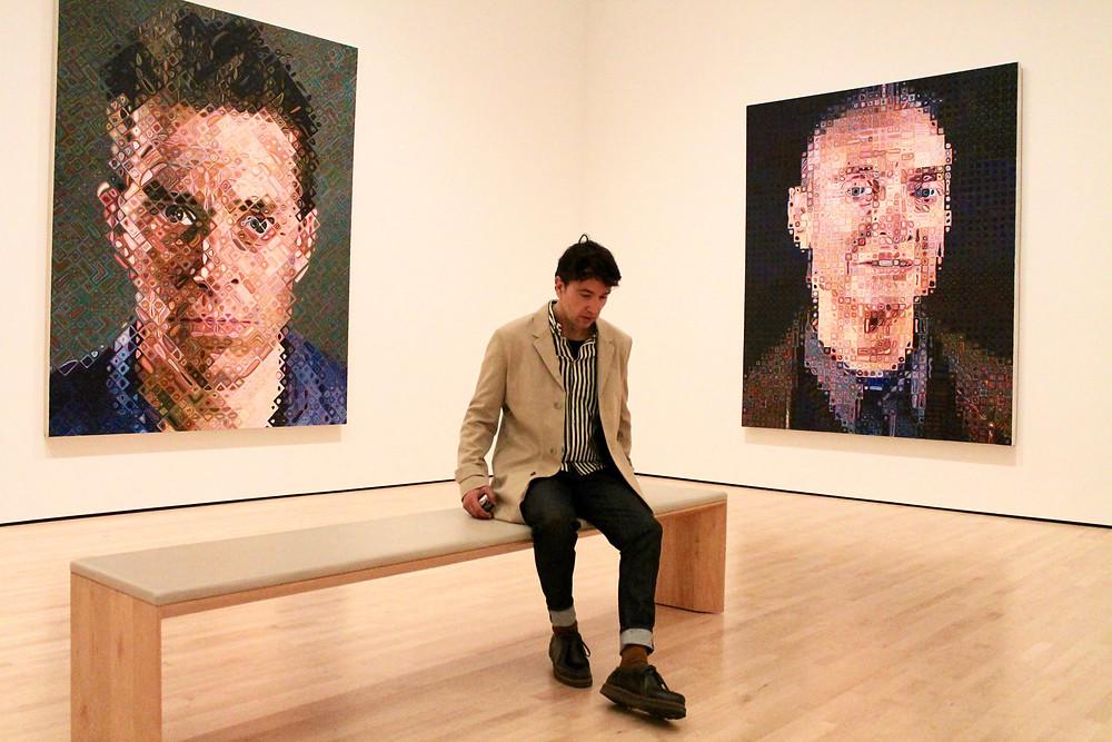 The Trendy Man en el MOMA de San Francisco