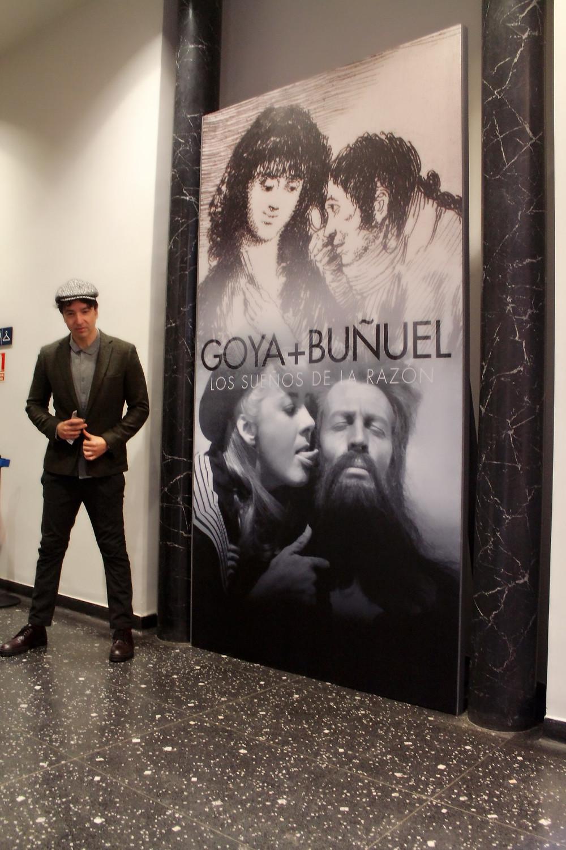 The Trendy Man en la exposición sobre Goya y Buñuel