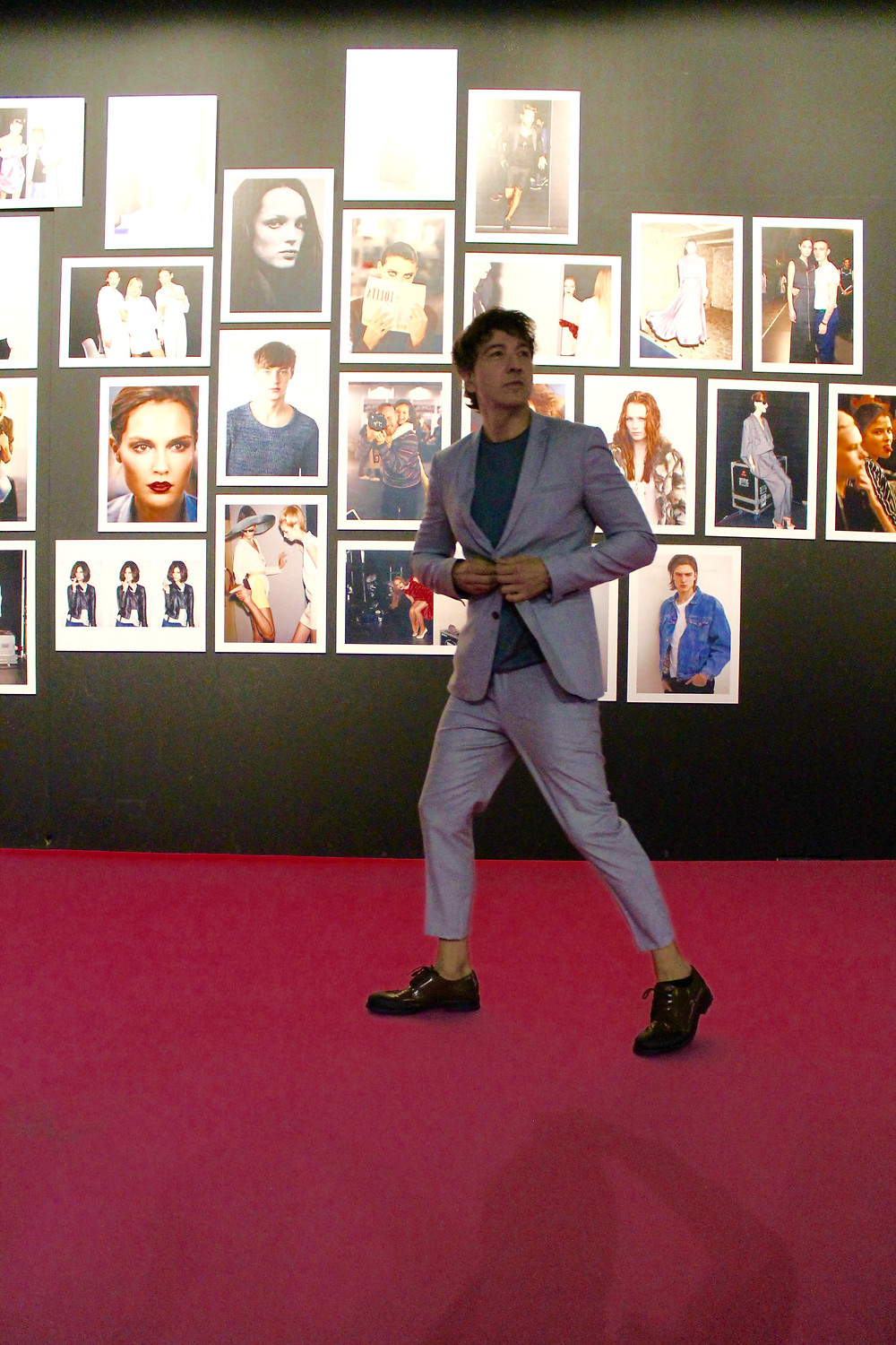 Miguel Biedma en la Mercedes Benz Fashion Week Madrid
