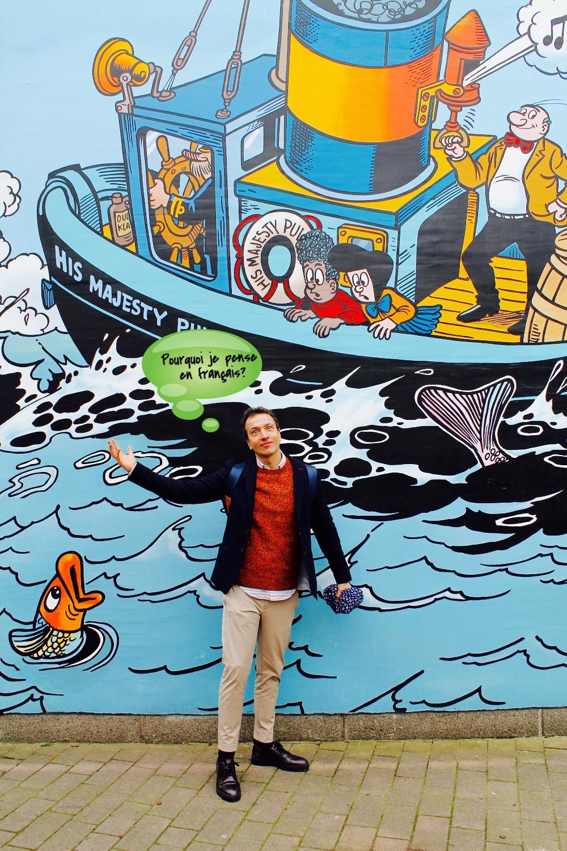 Comics en Bruselas por The trendy Man